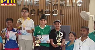 IVY World School Heralds A Wave Of Victory In Interschool Lawn Tennis Tournament 2019 JalandharPTB Big Breaking News Jalandhar
