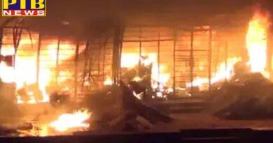 delhi fire broke out in kaveri hostel of janakpuri in south delhi girls hostel