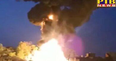 PTB Big Breaking News uttar pradesh gorakhpur fire in petrol tanker at maharajganj of uttar pradesh
