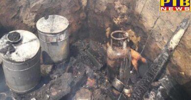 PTB Big Shocking News bihar gas cylinder blast in mla mewalal choudhari house ex mla neeta injured PTB Big Breaking News Bihar
