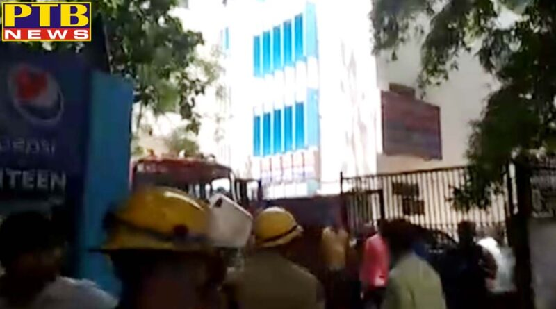 PTB Big Breaking News delhi fire at gb pant hospital in delhi