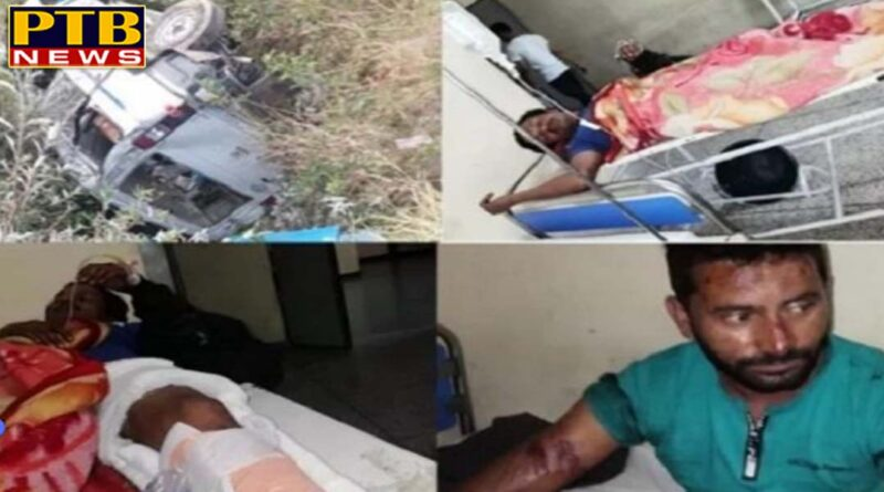 PTB Big Accident News Mandi Big road accident Himachal Pardesh