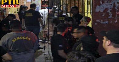 PTB Big Crime News International brazil firing in belm citys bar 11 deaths