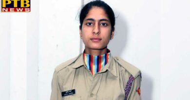 PTB News NCC Cadet chosen in Expedition Camp among 20 students in India