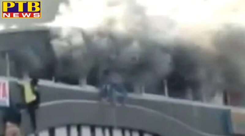 PTB Big Sad News Fire Broke Down in Takshshila Complex of Surat, many person Died