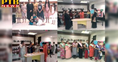 PTB News Mother's Day celebrated at GD Goenka School Jalandhar