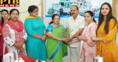 PTB News Seminar on Self Care in S.D. Collegiate School, Jalandhar