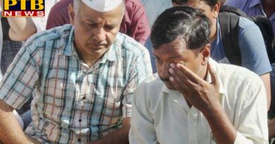 PTB Big Political News National a man slap arvind kejriwal in delhi CM