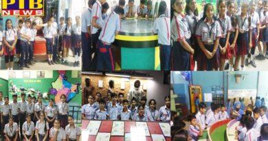 Organizing educational tours for students of GD Goenka International School, Jalandhar