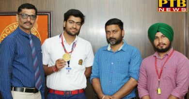 PTB News Samarth of Innocent Hearts had an Exemplary Presentation in Karate Championship and Won Gold Medal
