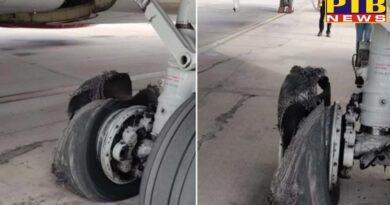 emergency landing of spicejet dubai jaipur sg 58 flight took place at jaipur airport