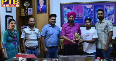 PTB News 100% attendees honored with Mehr Chand Polytechnic College