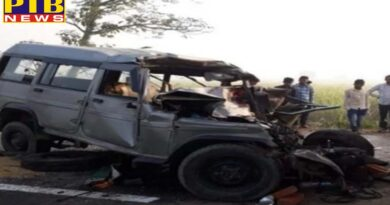 National accident in up 10 people dies UP