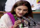 PTB Big Political News tmc mp nusrat jahan mimi chakraborty takes oath in lok sabha
