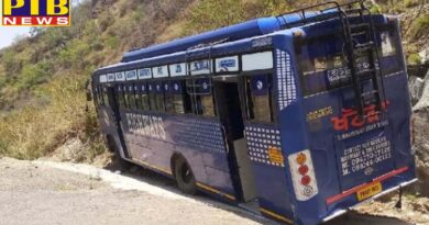 chandigarh bus driver vision averted major accident in morn
