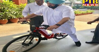 PTB Big Political News Punjab capton amarinder singh says never leave cycling