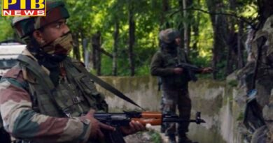 Jammu & Kashmir: Exchange of fire between terrorists and security forces in forest area of Boniyar in Baramulla PTB Big Breaking news