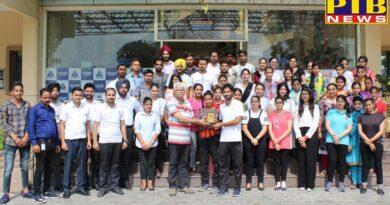 International Yoga Day Celebrated At Pyramid College of Business And Technology, Phagwara