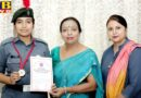 PTB News NCC cadet of HMV earned accolades
