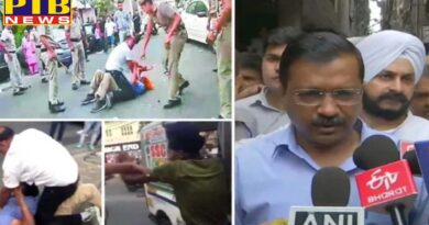 delhi three policemen suspend in the case of auto driver beaten by police