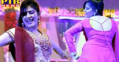 Entertainment dispute in sapna choudhary programme