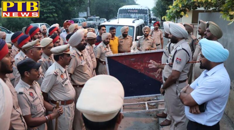 jalandhar city six people arrested during raids in ganna pind jalandhar