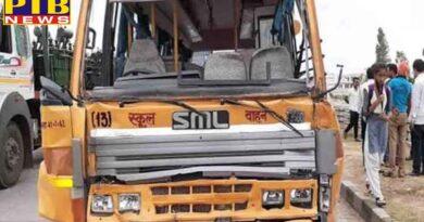 national latest truck hits school bus in fatehpur uttar pradesh