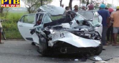 PTB Big Accident News Firozpur road accident one death Punjab