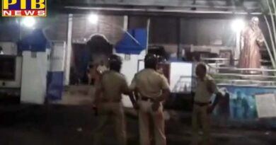 unidentified miscreants hurled bomb at residence of bjp mp arjun singh and fired bullets?