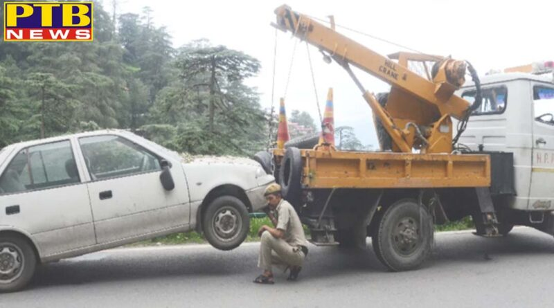 challan of Principal Secretary, Chief Conservator and Lokayukta vehicles in shimla