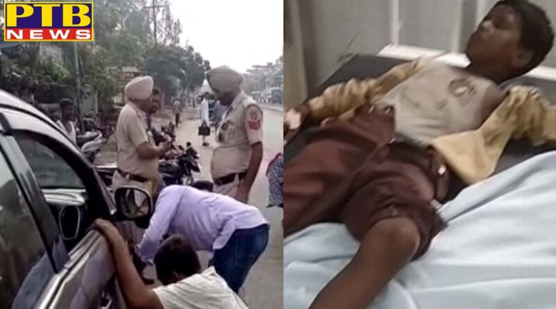 PTB Big Accident News Jalandhar 4 students injure after Car Auto accident Punjab