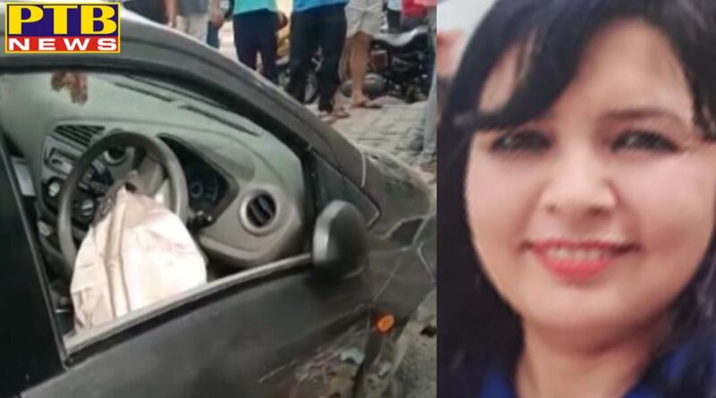 PTB Big Crime News shoot out in delhi dwarka area, woman shot by bikers shifted to hospital