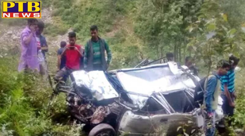 himachal pradesh kullu car accident in himachal kullu two dies two injured