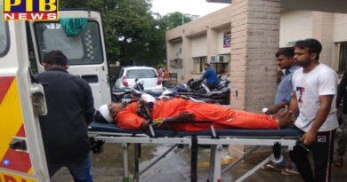 PTB Big Accident News jalandhr Phagwara national Highway Big road accident 25 injurd