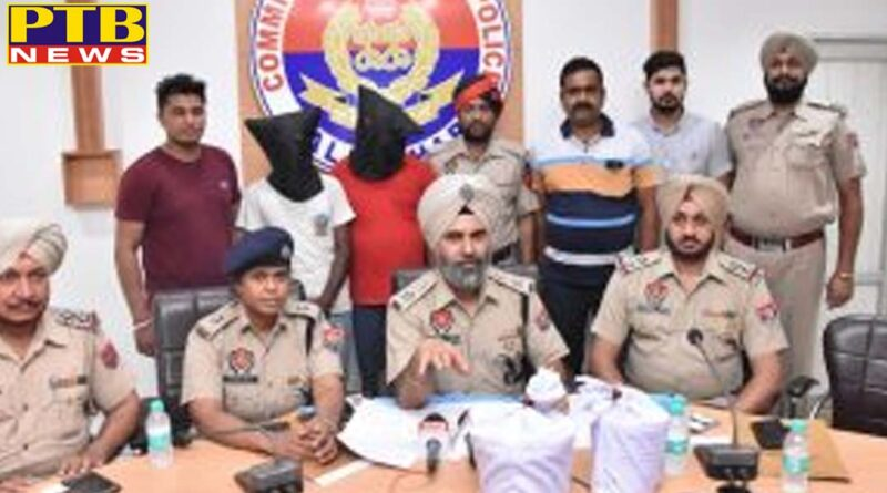 Jalandhar police arrested two including drug pills and injections