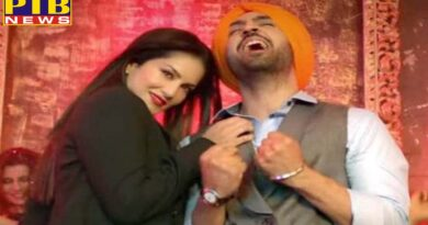 diljeet dosanjh epic reactio goes viral on internet when sunny leone touched him first time during