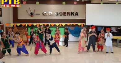 Festival of Teej celebrated at GD Goenka School