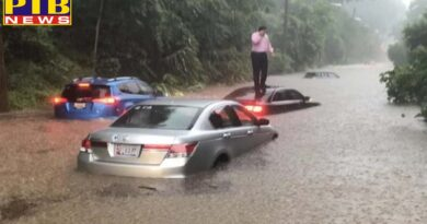world united states of america heavy rains swamped the national capital on monday morning