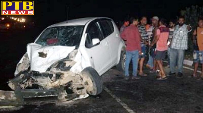Jalandhar couple died in Big accident Focal Point Jalandhar