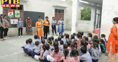 "NSS Unit of HMV participated in ""Swachh Bharat Summer Internship"