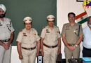 SSP PERFORMS PINNING CEREMONY OF TWO NEWLY PROMOTED WOMEN SUB-INSPECTORS Jalandhar