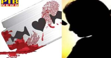 crime a man committed suicide after attack on girl s throat with blade in panipat