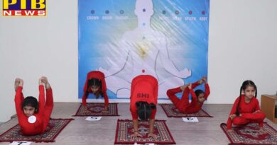 Innocent Hearts School hosted Inter School Jalandhar Sahodaya Schools Yoga Championship