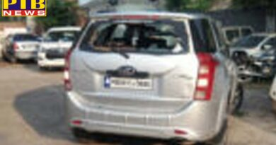 Jalandhar-Amansar highway two travel agents clash Many rounds fire and ran away with cash of millions of cash