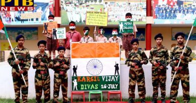 St. Soldier celebrates Kargil Day Jalandhar