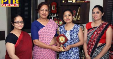 S.D. College for Women's student secures a place in the university merit list