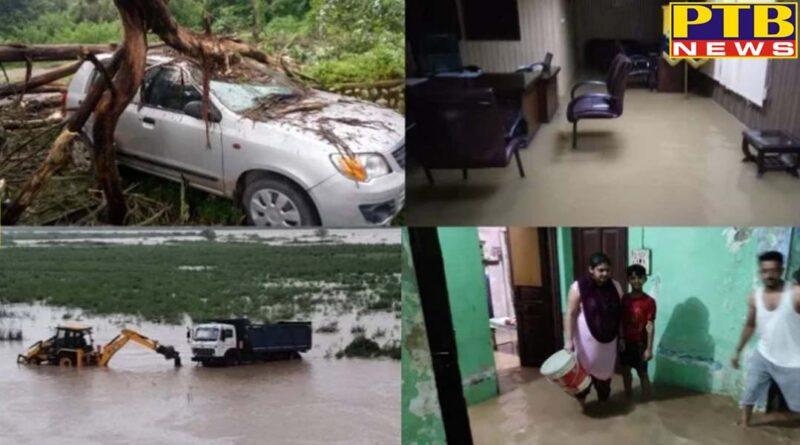 himachal pradesh una recorded season highest rainfall 226 milimete