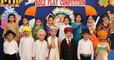 Tiny Tots of INNOKIDS swathed in the colours of Patriotism