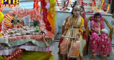 jalandhar on krishna janamashtmi The temples of Karol bagh and Mohalla Gobindgarh