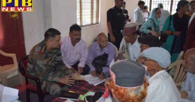 ARMY CONDUCTS VETERANS OUTREACH PROGRAM AT HAMIRPUR